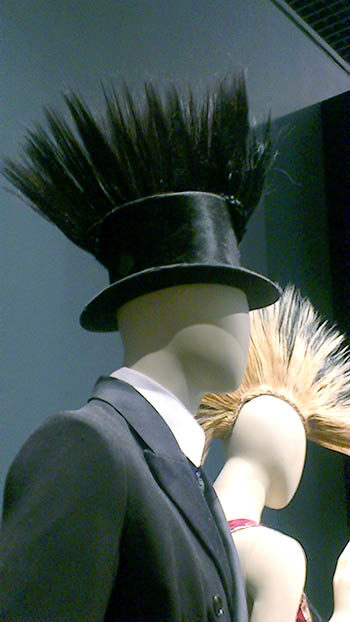 Top hat mohican